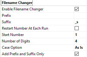 Tagging Prefix and Suffix to an Existing Filename