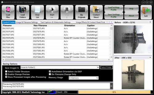 Batch It 6.26 screenshot