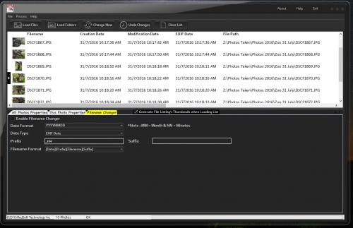 Batch JPEG Date Changer > iRedSoft Technology / Complete Magic