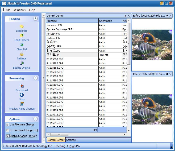 JBatch It screenshot